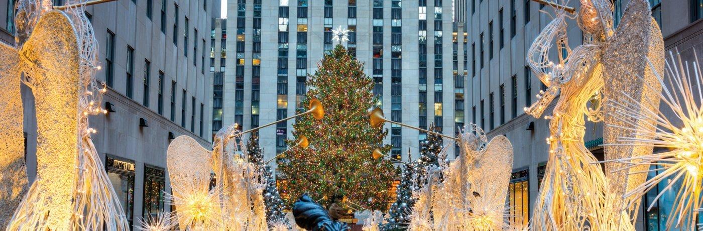 Wann Wird In New York Der Weihnachtsbaum Aufgestellt.Nordland Reiseagentur Adventszeit In New York